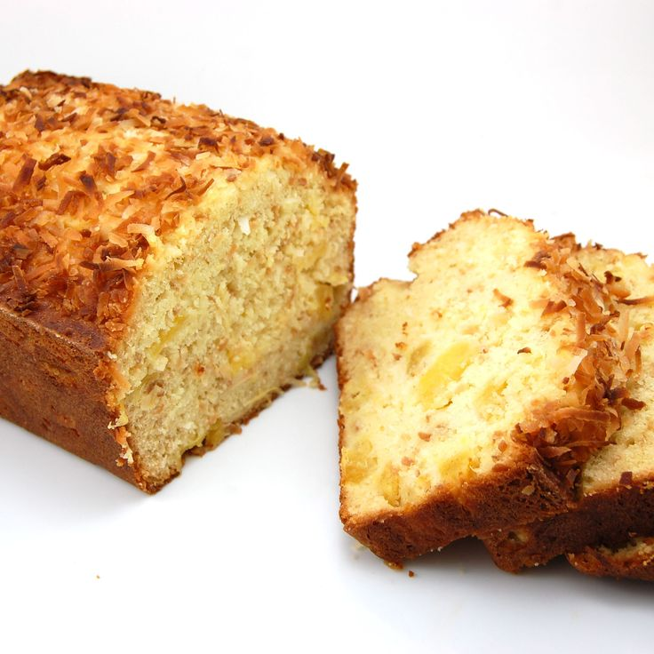 Coconut-Pineapple Loaf Cake, made this today and it's so good! I didn't have the coconut so I increased sugar to 1.5 cups and added chopped pecans. Yummy!