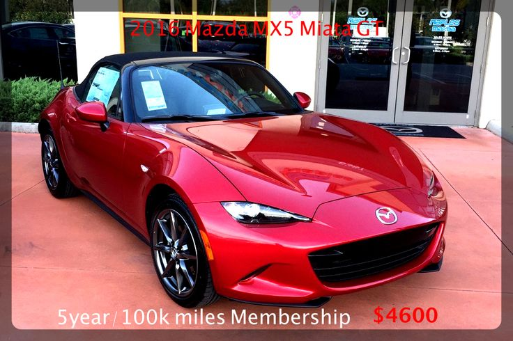 Brand New 2016 Mazda Miata MX5 Convertible 6 speed