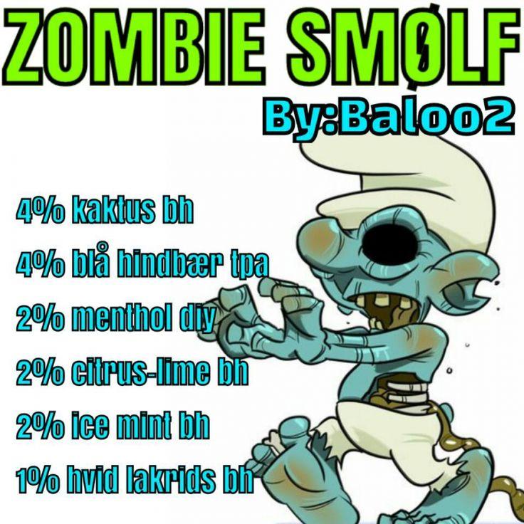 <b>Zombie smølf</b><br /><b>Baloo2</b> har tilladt at vi må bruge hans opskrifter.