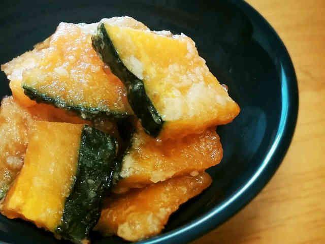 ポン酢で旨~い!焼きカボチャ☆簡単お弁当の画像