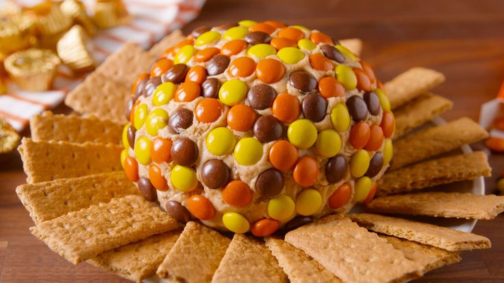 This Reese's Peanut Butter Ball is the weirdest (yet most tasty!) dessert you've had in a while.