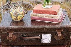 vintage suitcase | www.goldcoastweddingeventhire.com, Gold Coast Wedding, Garden Wedding, Beach Wedding, Hinterland Wedding, Brisbane Wedding, Chair Hire, Chair Styling, Chair Floral, Chiavari Chair, Wedding Decor, Wedding Decorations, Wedding Ceremony, Wedding Stylist