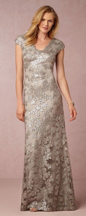 One of the best fitting gold dresses of the season -