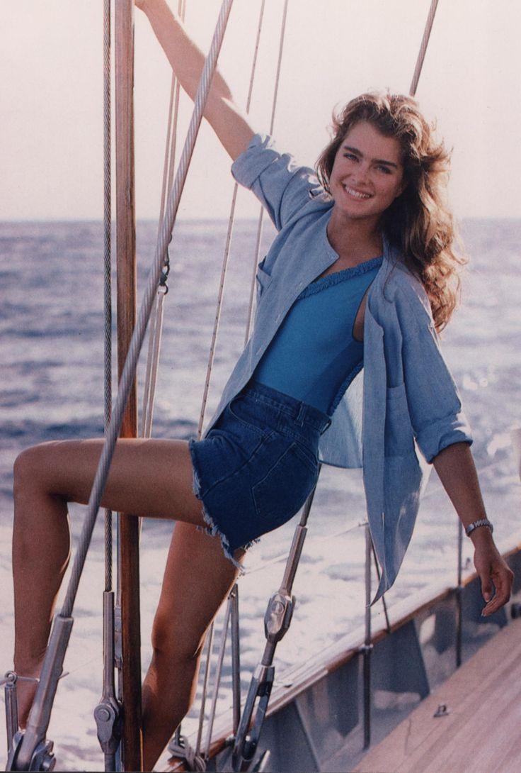 Brooke Shields, mid 80s