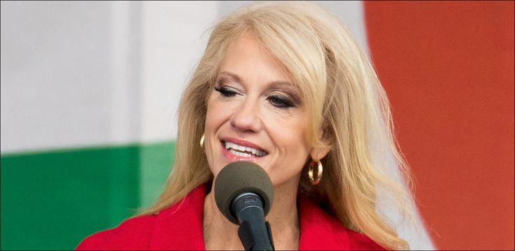 """Kellyanne Conway has been called out by the president of her alma mater, Trinity Washington University, in a recent school blog post titled, """"On Lies and the Truths We Must Tell."""""""
