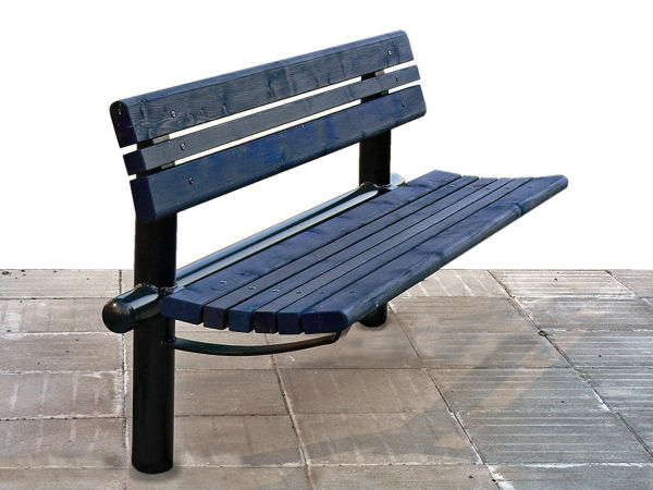 Treo bench with backrest