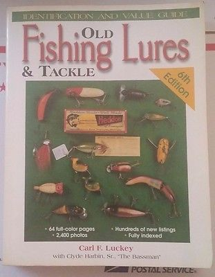 OLD FISHING LURES & TACKLE ID VALUE GUIDE COLLECTOR'S BOOK 767 PAGES