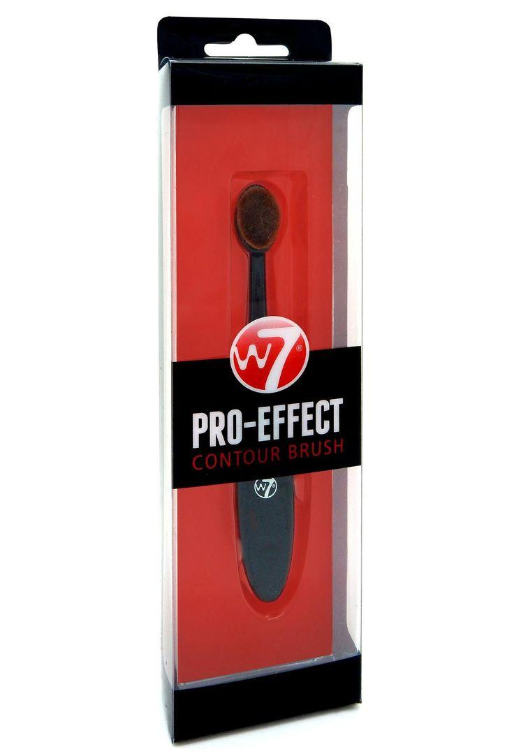 Πετύχετε επαγγελματικό αποτέλεσμα στο contouring με το W7 Pro Effect Contour Brush! Το οβάλ πινέλο έχει πολύ απαλές τρίχες και μπορείτε να κάνετε ομοιόμορφο blending ή να εφαρμόσετε highlighter, για να δώσετε διάσταση στο πρόσωπό σας. Η λαβή του παρέχει ακρίβεια και ευκολία στην εφαρμογή.Μέγεθ