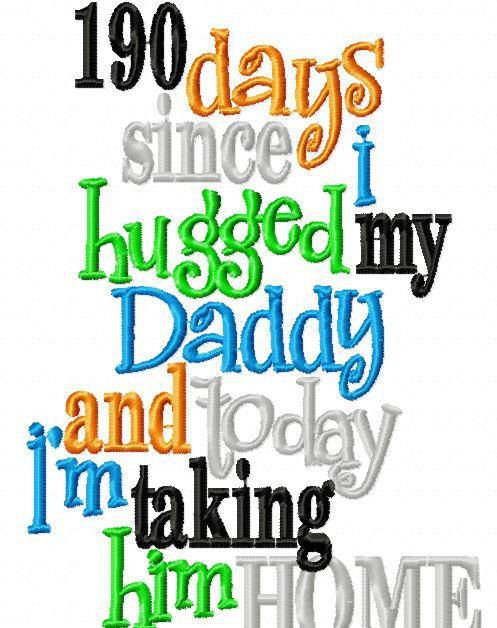 This happened to me one day and I was very happy to be able to bring my daddy home that day!:)!!!!:)