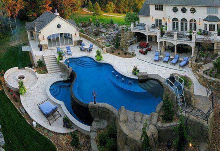 Amazing pool | Dream Home | Pinterest