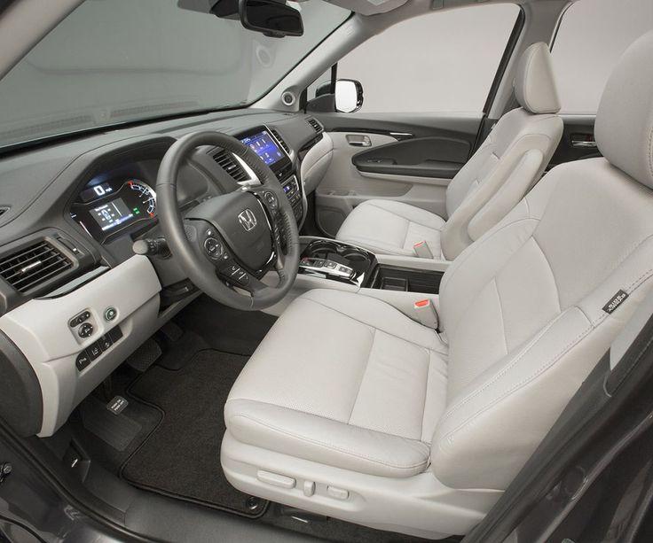 2018 Honda Pilot interior front seats