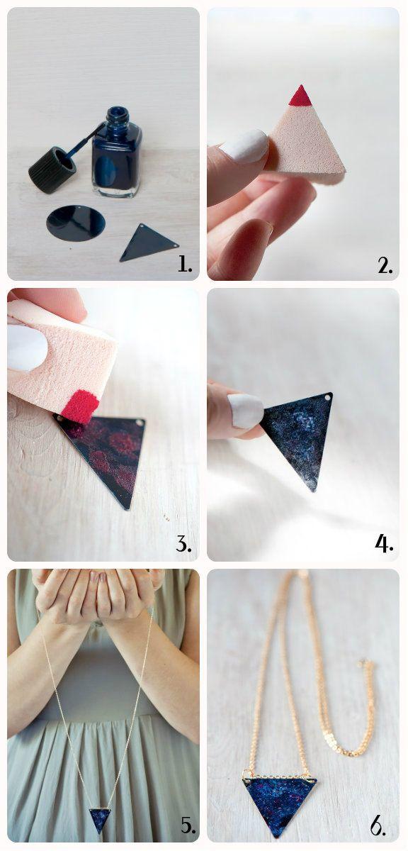 DIY: collar con estampado [FOTOS] | ActitudFEM