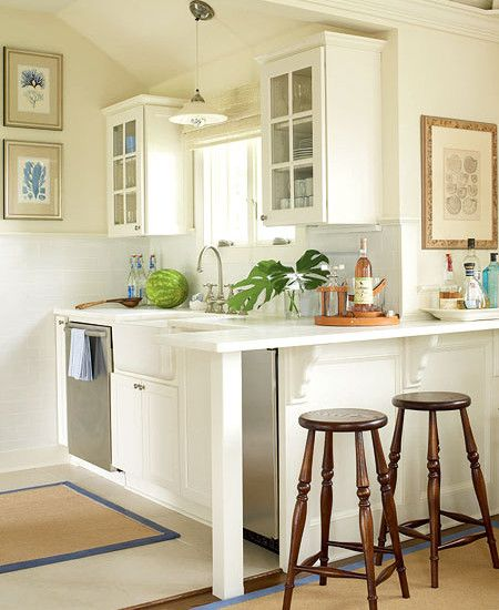 Small White Kitchen Island: 25+ Best Ideas About Tiny Kitchens On Pinterest