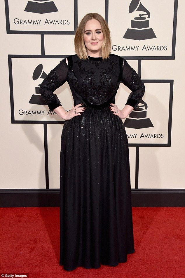 Back again: It will be a chance to Adele to move on from this year's Grammys where there were audio issues during her mesmorising performance of All I Ask