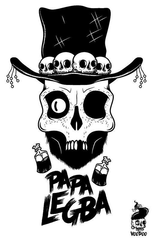 Papa Legba - Voodoo Clothing - Panama