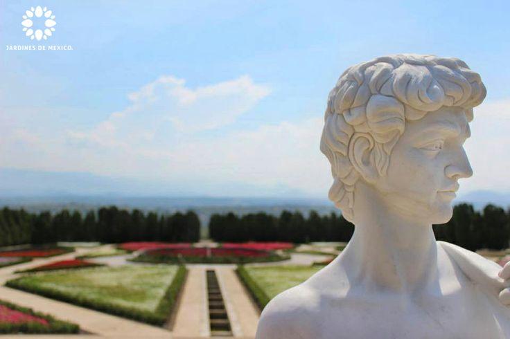 El david en el jard n estilo italiano de jardines de for Jardines italianos