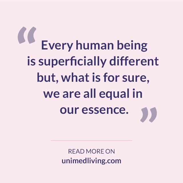 http://bit.ly/1A16Uov #wisdom #equality #truth #brotherhood #humanity #unimedliving