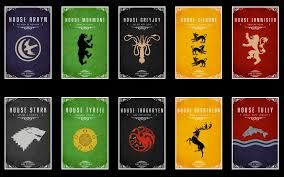 game of thrones -houses