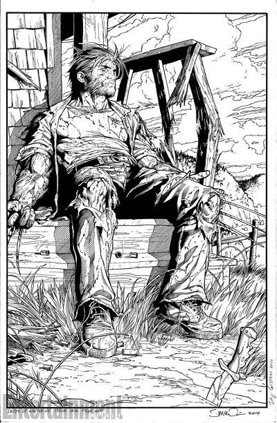The Death of Wolverine by Steve McNiven