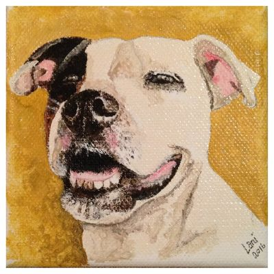 'Molly Dog III' Part of Triptych