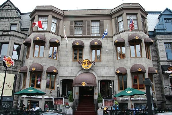 Hard Rock Cafe Montreal.  (since closed)
