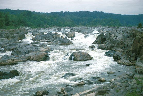 The Great Falls of the Potomac, Montgomery County, MD