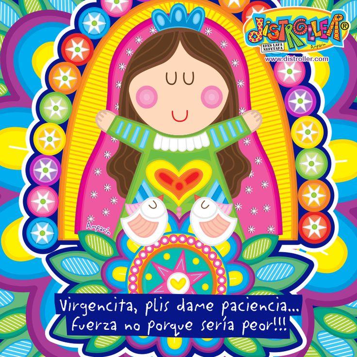 #Virgencita plis me urge la paciencia mil !!