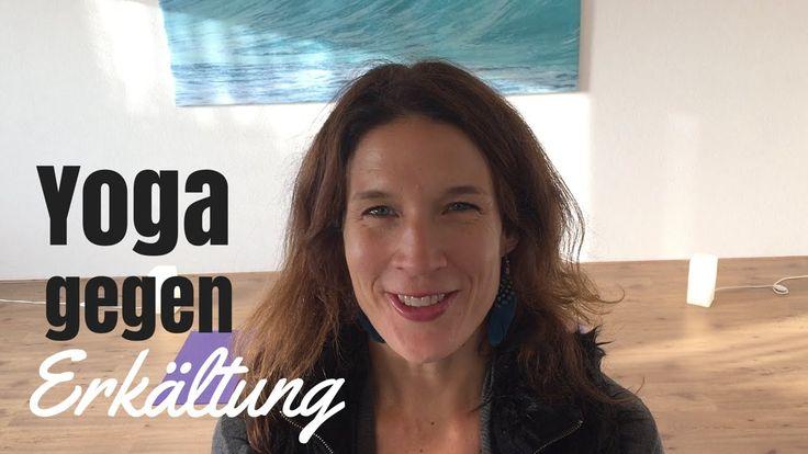 Yogaübungen mit Yogalexa: Yoga gegen Erkältung