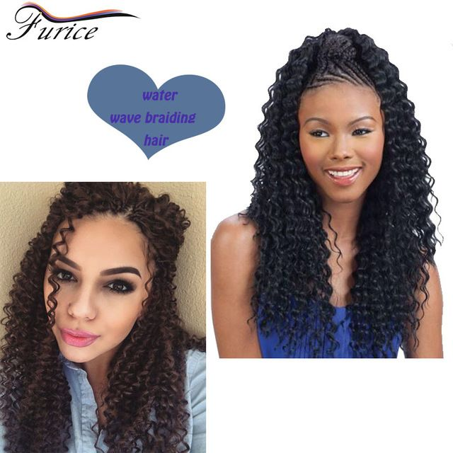 59 best water wave hair extensions images on pinterest wave hair 18 inch water wave curly hair afro kinky curly hair top quality synthetic crochet hair extensions ccuart Gallery