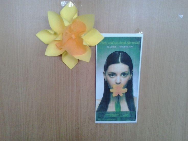 11.04. - Deň boja proti rakovine (na každých dverách)
