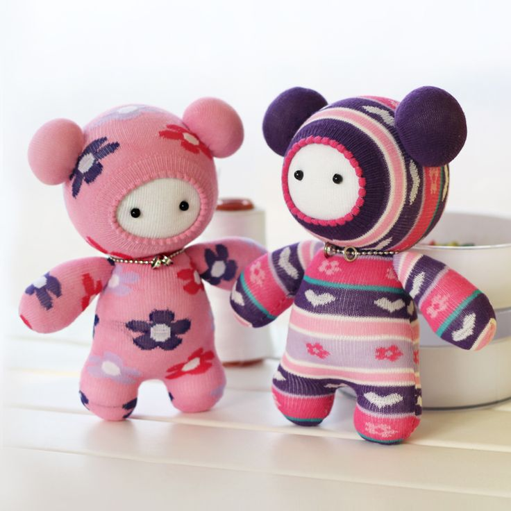 Free Shipping Hand puppet Doll Nut handmade Dolls diy socks doll material kit multi color limited edition Hot Sale-inNeedlework from Home & ...