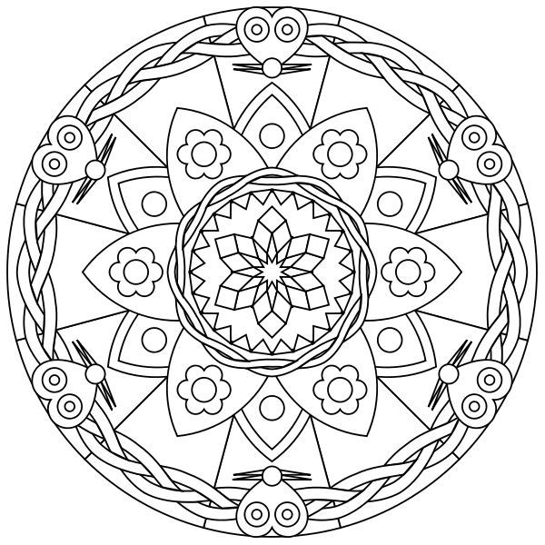 free printable mandalas | Free printable mandala coloring pages ...