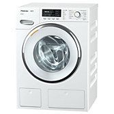 Miele WMG 120 Freestanding Washing Machine, 8kg Load, A+++ Energy Rating, 1600rpm Spin, White