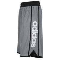 adidas Own The Game Shorts - Mens - Tech Grey/Black/White | 37% OFF