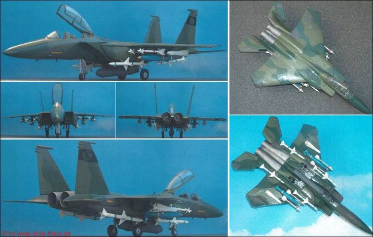"MDD F-15E ""Strike Eagle"" (Italeri 166) 1:72"