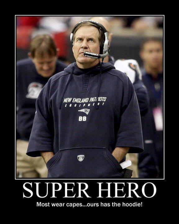 """""""Super Coach"""" aka Bill Belichick"""