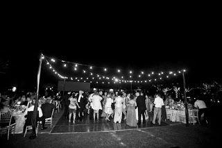 outdoor wedding dance floor lights | Details: Dance Floors - The Focal Point of any Wedding