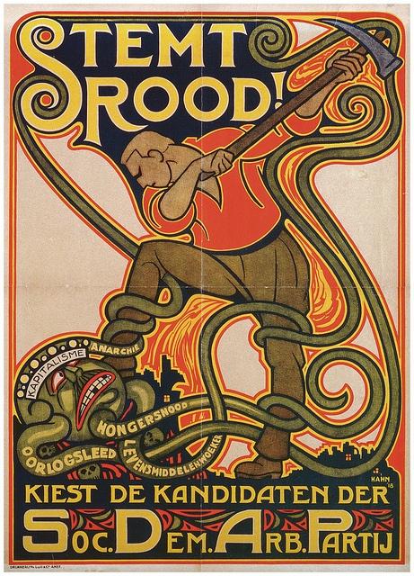 Poster PvdA by Partij van de Arbeid