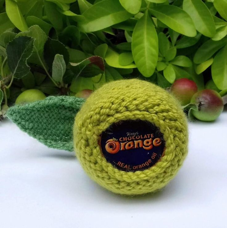 Apple for Teacher - Chocolate Orange Cover Knitting ...