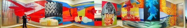 Panoramic Blog: OBRA de JAMES ROSENQUIST. F-111 MOMA NUEVA YORK