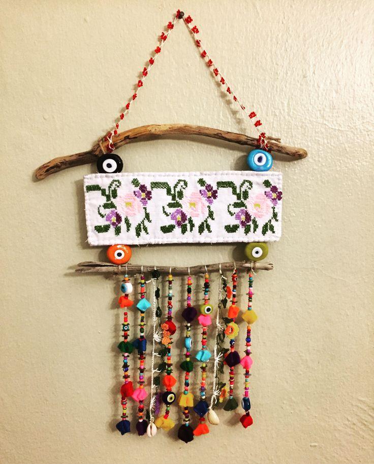 nazarlık, nazar, amulet, kanaviçe, crossstitch, design, handmade