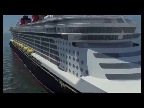 Круиз Дисней. Disney Cruise Line Unveils Disney Dream