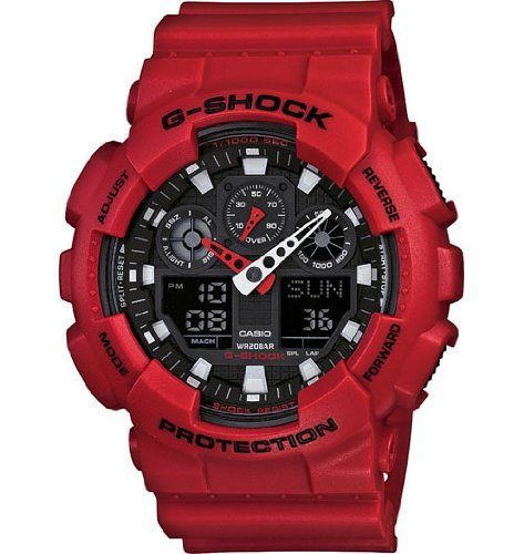 G-Shock Limited Edition X-Large Classic Series Watch $107.95 http://amzn.com/B005OAO20U #CasioWatches #MenWatch