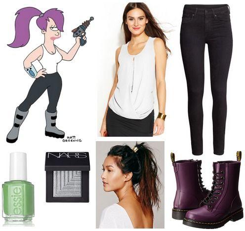 Fashion style Chic: Geek Fashion Inspired by Futurama for lady