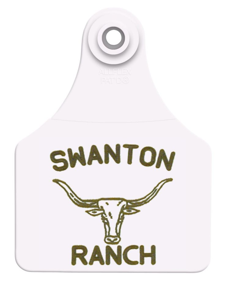 Custom Cattle Tags