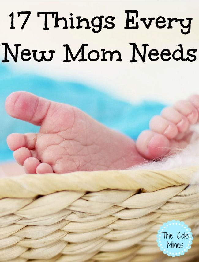 17 Things Every New Mom Needs