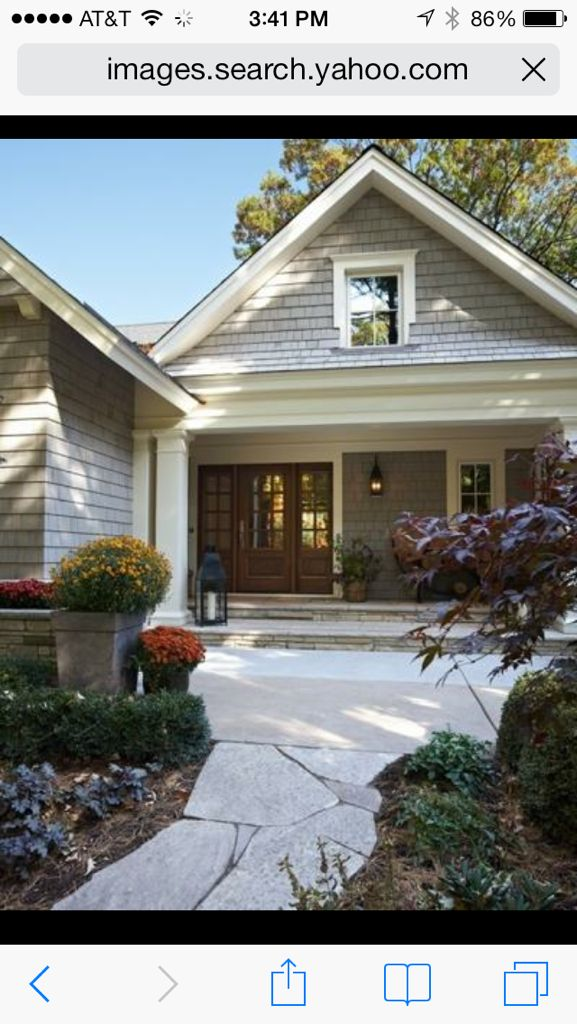 Exterior Paints Ideas: Exterior Inspiration- Craftsman House And Stone Walkway