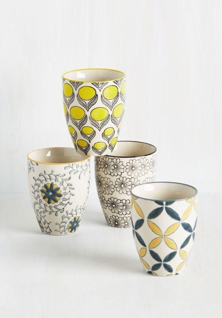 How You Brewin'? Cup Set, @ModCloth