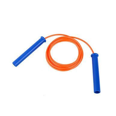 Jump Rope for Fitness Training,Professional Speed Rope PU Rope 2.8M Orange