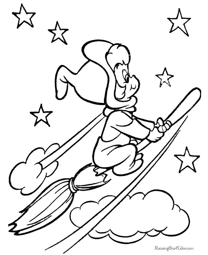 Disney Witches Coloring Pages : Best coloring easter halloween images on pinterest